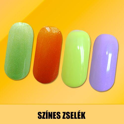 Mutatós színes zselék, egyedi műkörmök kialakításához!   http://goldnails.eu/termekkategoria/gold-nails-zselek/szines-zselek/