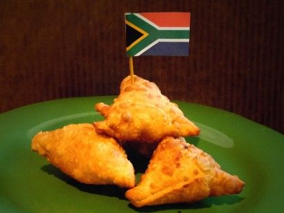 South African Lamb Samosas