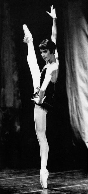 French ballerina Fanny Gaïda, born in 1961, entered the Paris Opera Ballet