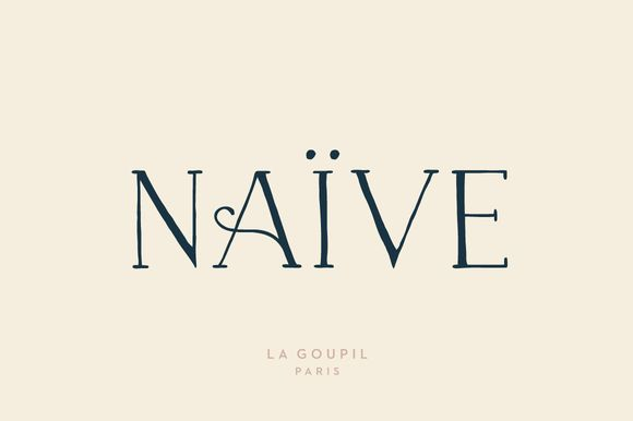 Love the elegance of this font!!! Naive Font Pack by La Goupil Paris on @creativemarket
