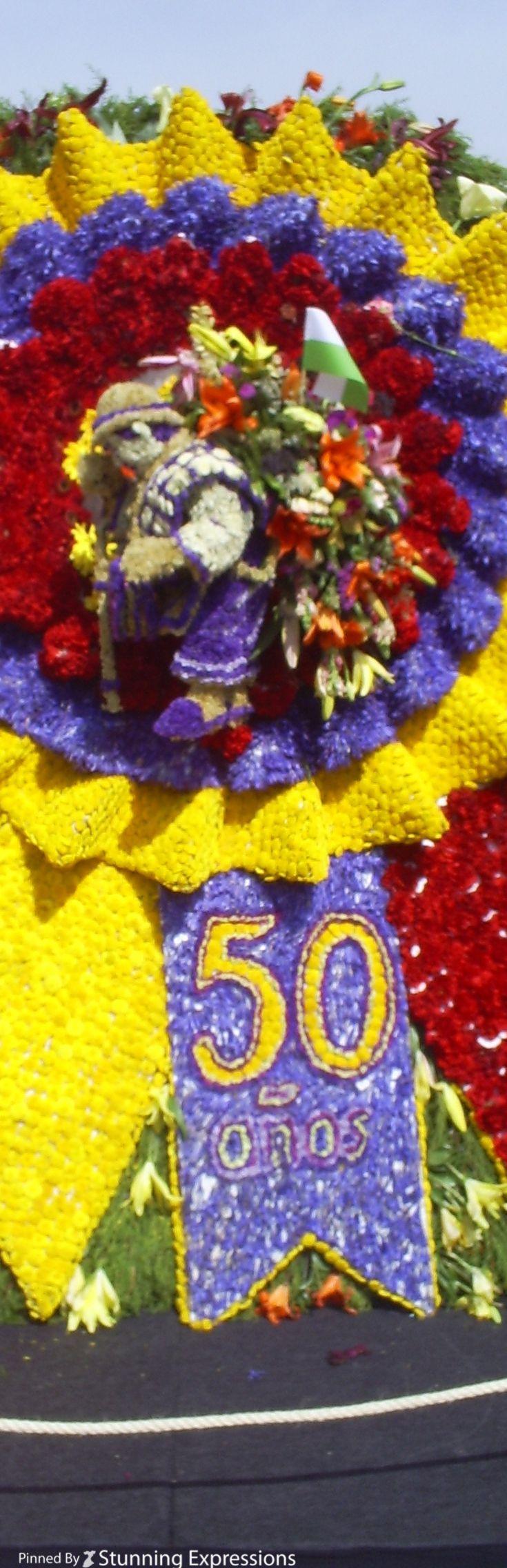 Flowers Parade ( Desfile de Silleteros) 50 Years - Medellin | Colombia