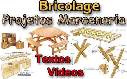 Bricolage - Projetos de Marcenaria. Veja em detalhes no site http://www.mpsnet.net/G/502.html via @mpsnet Pacote de projetos para voce aprender detalhadamente a criar, projetar e fabricar moveis, brinquedos e acessorios para jardim. Veja em detalhes neste site
