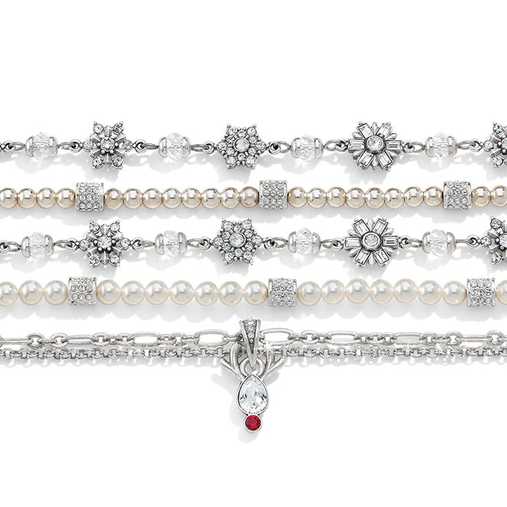 Our Winter Bracelets are now here! Just in time to frost yourself for the holiday season!