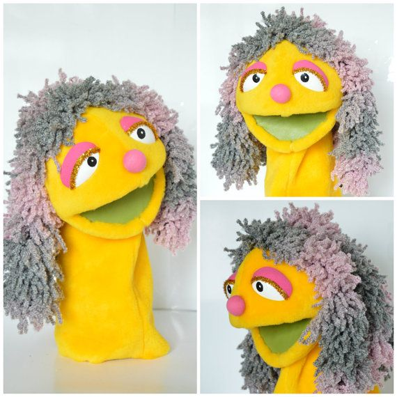 Muppet Hand Muppet Handmade Muppet-Style Muppet by AlezGustawie