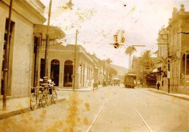 Rua Bambina, Botafogo. Anos 30.