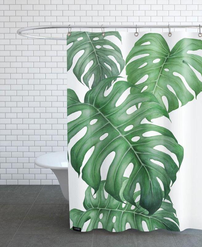 Tropical No.2 Als Duschvorhang Von Typealive | JUNIQE