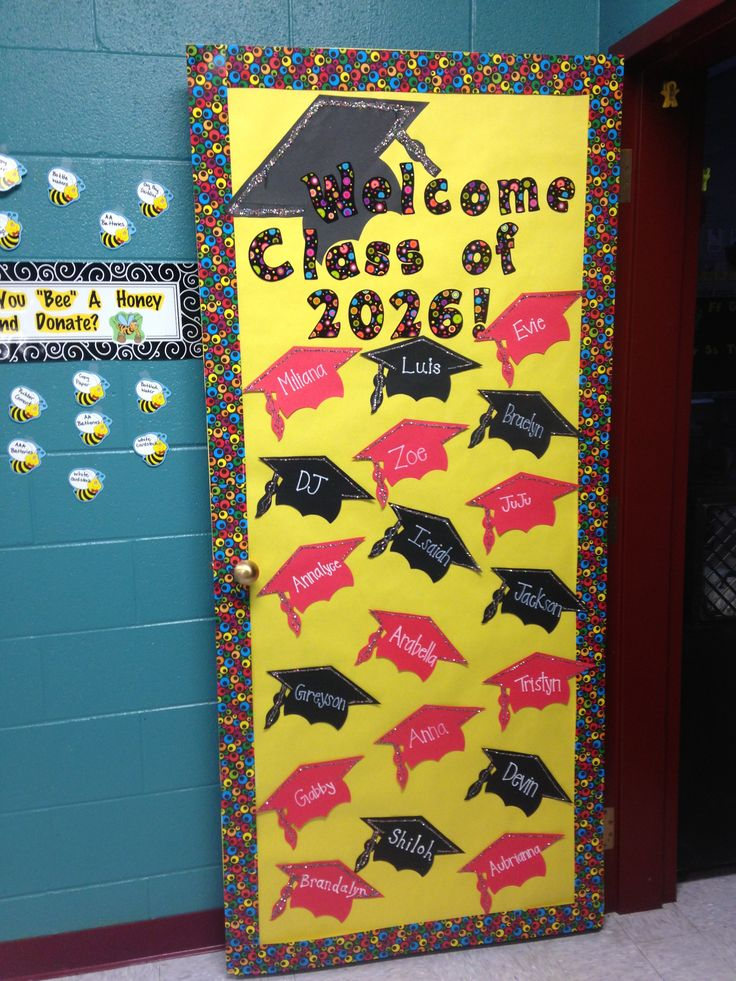 Beginning of the year kindergarten door!! This welcomes all the new up coming Kindergarteners!!