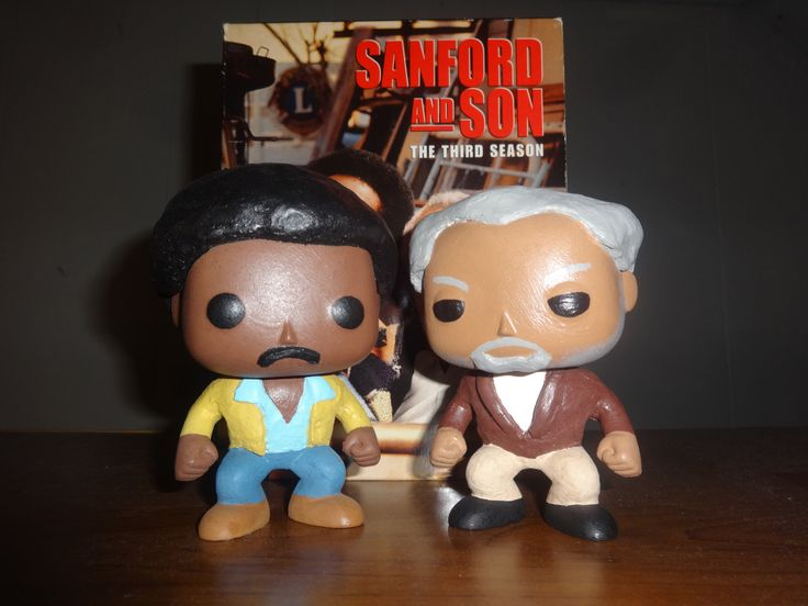 Sanford and Son…ready to go! Custom Fred and Lamont Sanford POPs!