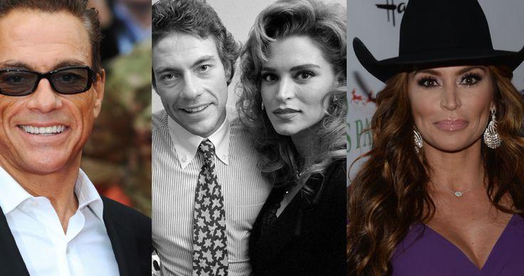 Jean Claude Van Damme And Darcy LaPier