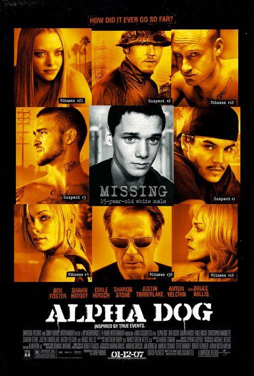 Alpha Dog (2006) Emile Hirsch, Olivia Wilde, Justin Timberlake, Ben Foster
