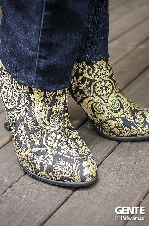 ¿Qué tal estos botines estampados? ¡Los accesorios estampados están in! http://elpais.com.co/gente