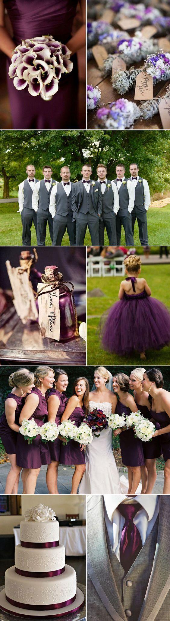 Perfect Plum Wedding Ideas and Inspiration: