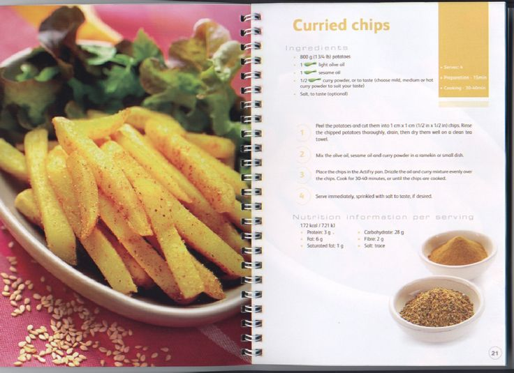 Tefal ActiFry 30 Recipes | Scribd