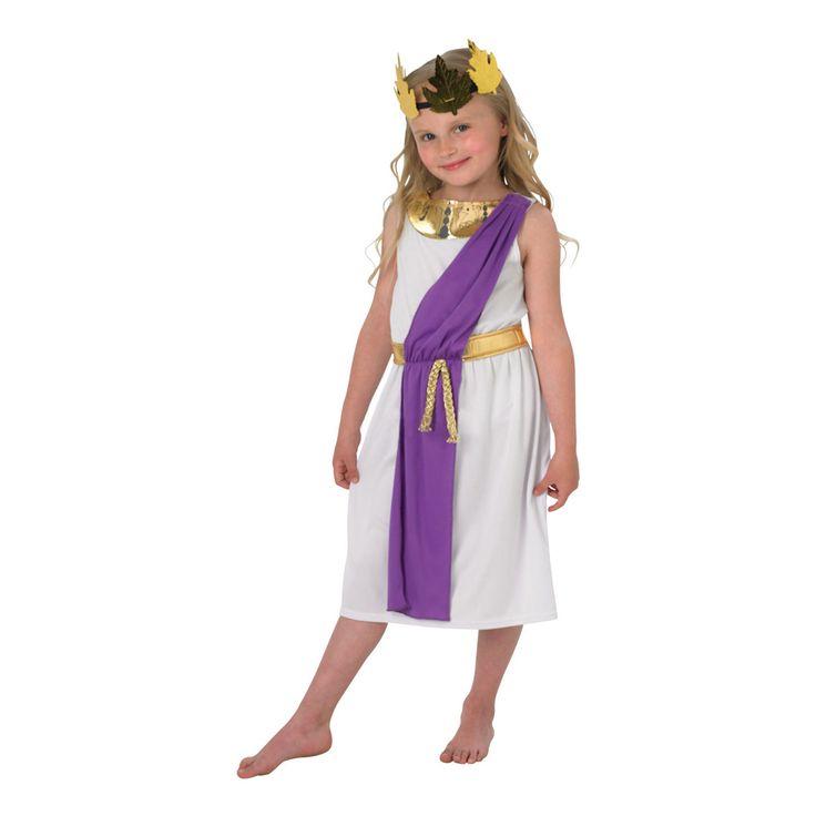 Romersk Flicka Barn Maskeraddräkt