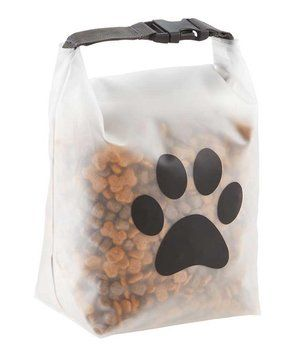 If you're taking a furry friend on a road trip this summer, easily pack and transport pet food with this airtight to-go bag. It holds up to 14 cups of food—and features a dedicated spot for feeding instructions.