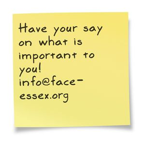 Have your say on what matters to you!