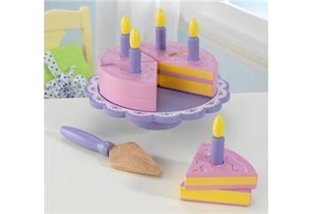KidKraft Bursdagskake- sett i tre