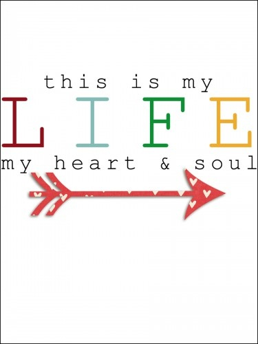 This is my life free filler card for project life
