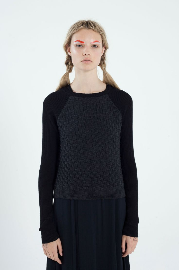 Basket Case Jumper - Knitwear - shop online - NOM*D
