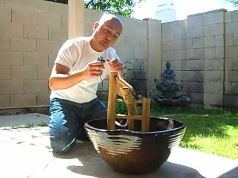 Best 25 bamboo fountain ideas on pinterest bamboo water fountain japanese water feature and - Shishi odoshi bamboo water feature ...