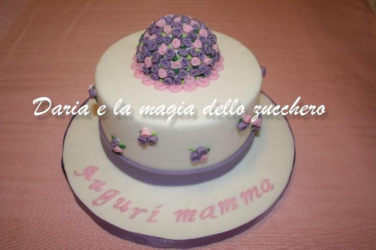 #Torta fiori #Flower cake #Mom's day cake