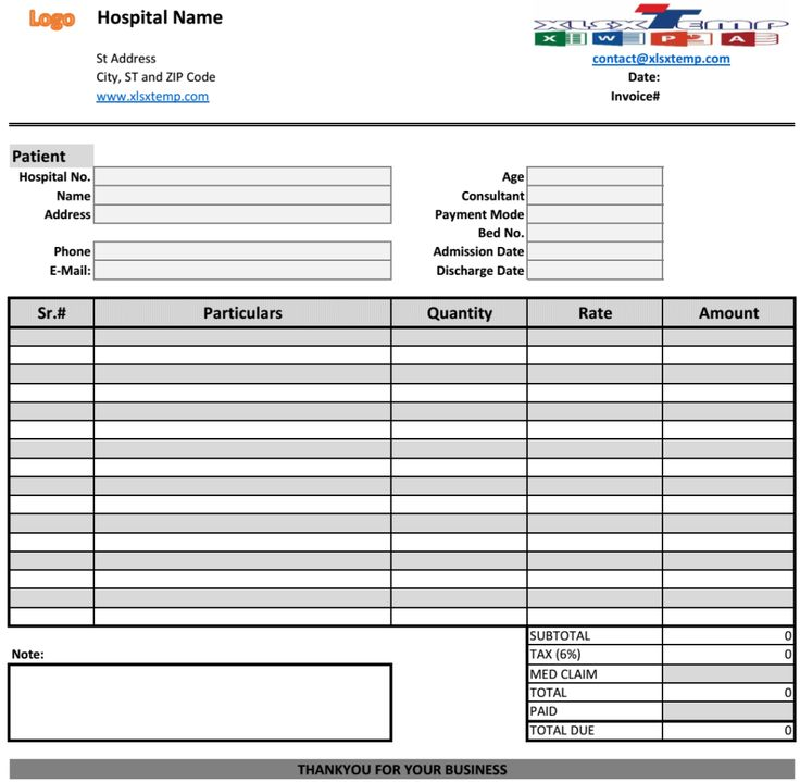 medical bill invoice template Excel Business Invoices Pinterest - purchase invoices
