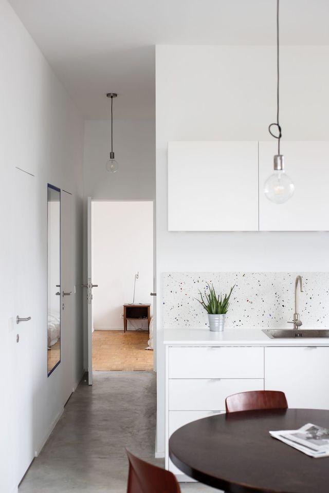 les 25 meilleures id es de la cat gorie terrazzo sur pinterest carrelage granito sol en. Black Bedroom Furniture Sets. Home Design Ideas