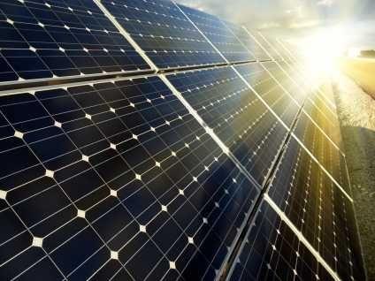 fonctionnement panneau solaire photovoltaique monocristallin