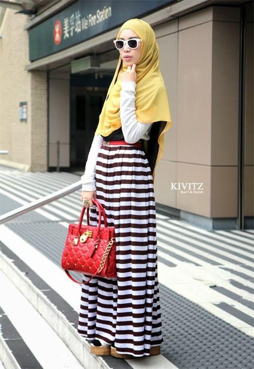Fitri Aulia, ♥ Muslimah fashion inspiration