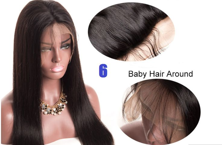 "[ALIPOP] Straight Brazilian Lace Front Human Hair Wigs For Black Women With Baby Hair Pre Plucked None remy Hair Wig 8""-24"" Rated 4.9 /5 based on 28 customer reviews  4.9 (28 votes) 69 orders Sale ends in 3 days Shop all our top brands now Price: US $95.30 - 234.00 / piece Discount Price: US $66.71 - 163.80 / piece"