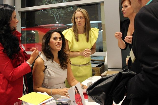Angela Stone's book launch in our Volkswagen showroom.   #fashion #nz #christchurch