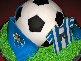 FC Porto Soccer Cake