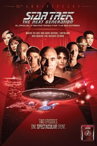 7.23 ONLY! Star Trek: The Next Generation 25th Anniversary Event.
