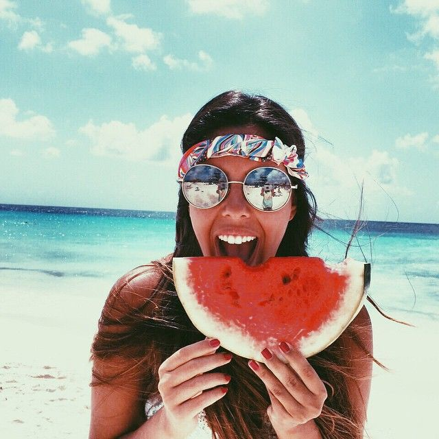 | ROAR VIBE LONDON | Smiles, happiness and watermelons! Pin Via - allwomenstalk.com