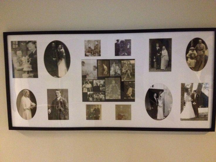 Ancestors photo frame