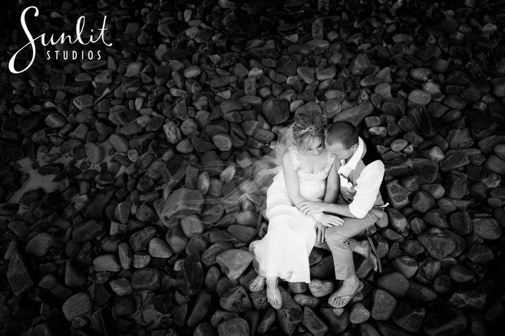 Little Cove Beach Wedding Photo by Sunlit Studios