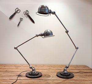 French 1950s style Jielde industrial lamp. Me wants it!