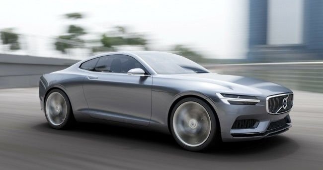 Volvo Concept Coupe Combines Modern Design With Vintage Style (video)