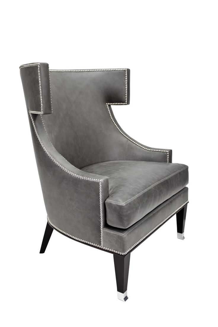 Chevron wing chairs - Brenton Wingback Chair