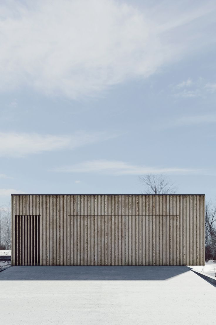 Visualization of single-family home located in Poznań. This is the final version of the project. Architecture by studio de.materiahttp://studiodemateria.com/