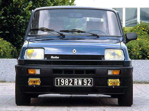 Renault 5 Alpine Turbo...Little monster from the past....