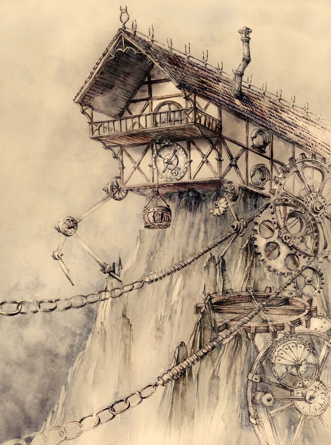 Spectacular Moments of Wonder with Dr. Monocle — (via Steampunk House) -- could I live here?