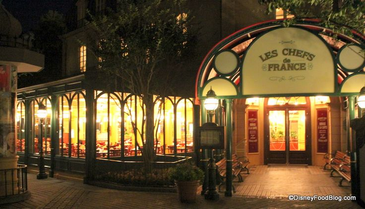 Les Chefs de France Restaurant in Epcot | LOVED this place