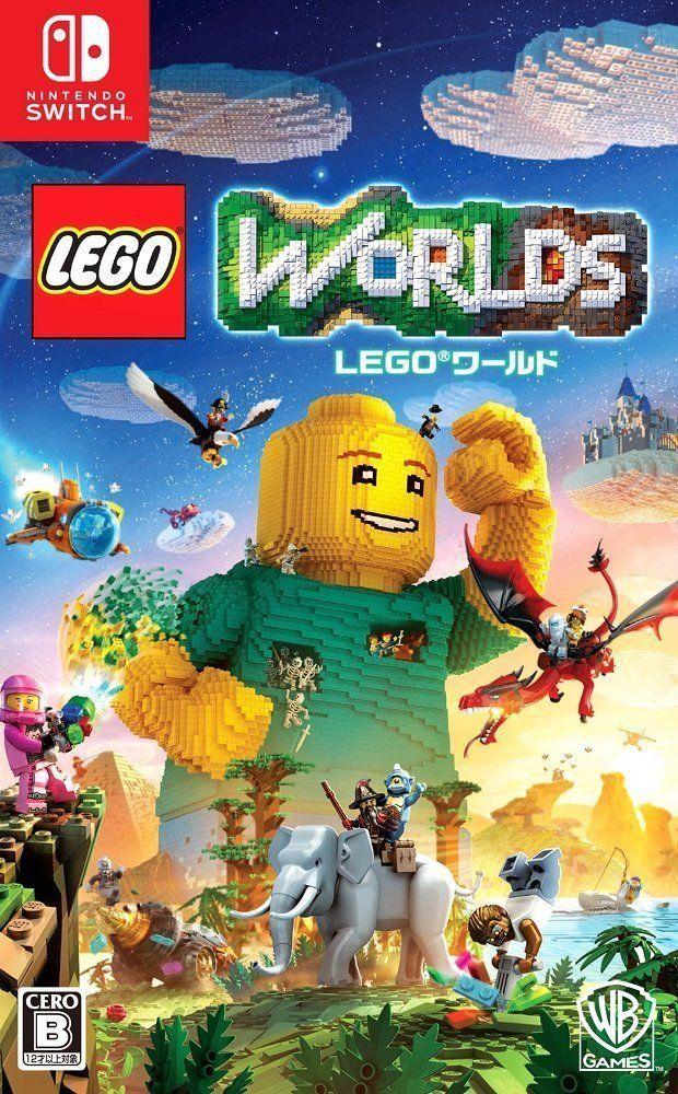 Used Nintendo Switch Lego World Mezase Master Builder Japan Import