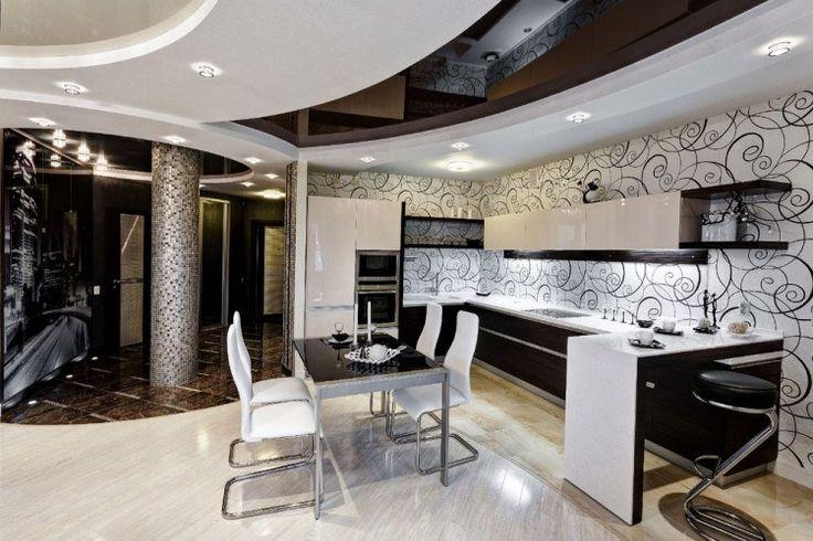 1000 id es sur le th me faux plafond cuisine sur pinterest faux plafond pl - Faux plafond avec spots integres ...