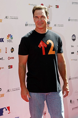 Patrick Warburton arrives at Stand Up To Cancer.