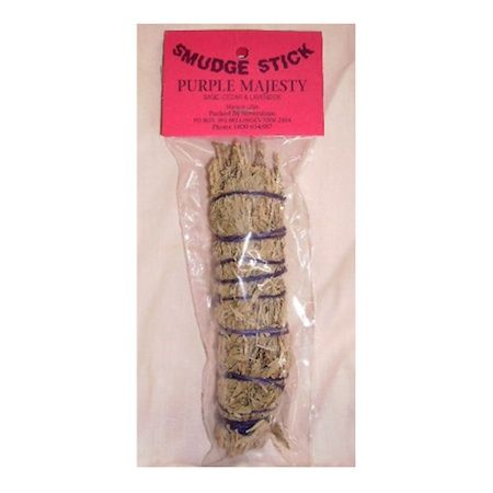 "Smudge Sticks Range – 16cm. 'Smudging' is the common name given to the ""Sacred Smoke Bowl Blessing,"" a powerful cleansing technique from the Native American tradition. It is a ritual way to cleanse a person, place or an object of negative energies or influences."