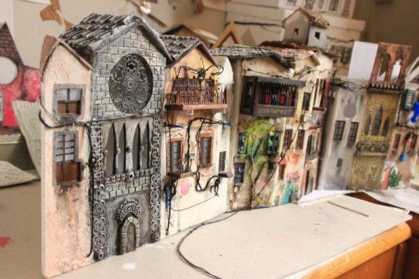 Handmade Miniatures crafted by Katarina Pridavkova