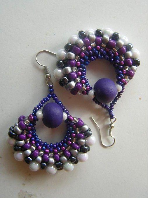 Blueberries would Nimadi - SAShE.sk - Handmade Earrings