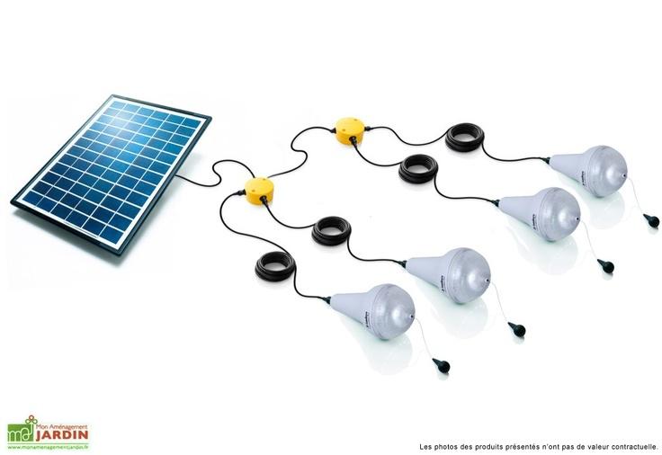 Les 25 meilleures id es de la cat gorie clairage solaire ext rieur sur pinterest lampes de for Eclairage jardin autonome